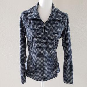 Columbia quarter zip pull over sweatshirt size L
